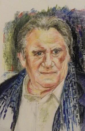 Gérard Depardieu by pascou
